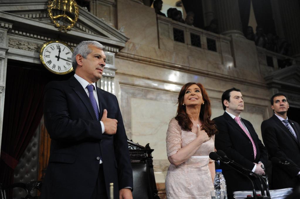 Cristina Kirchner. Apertura de Sesiones Ordinarias 2015.
