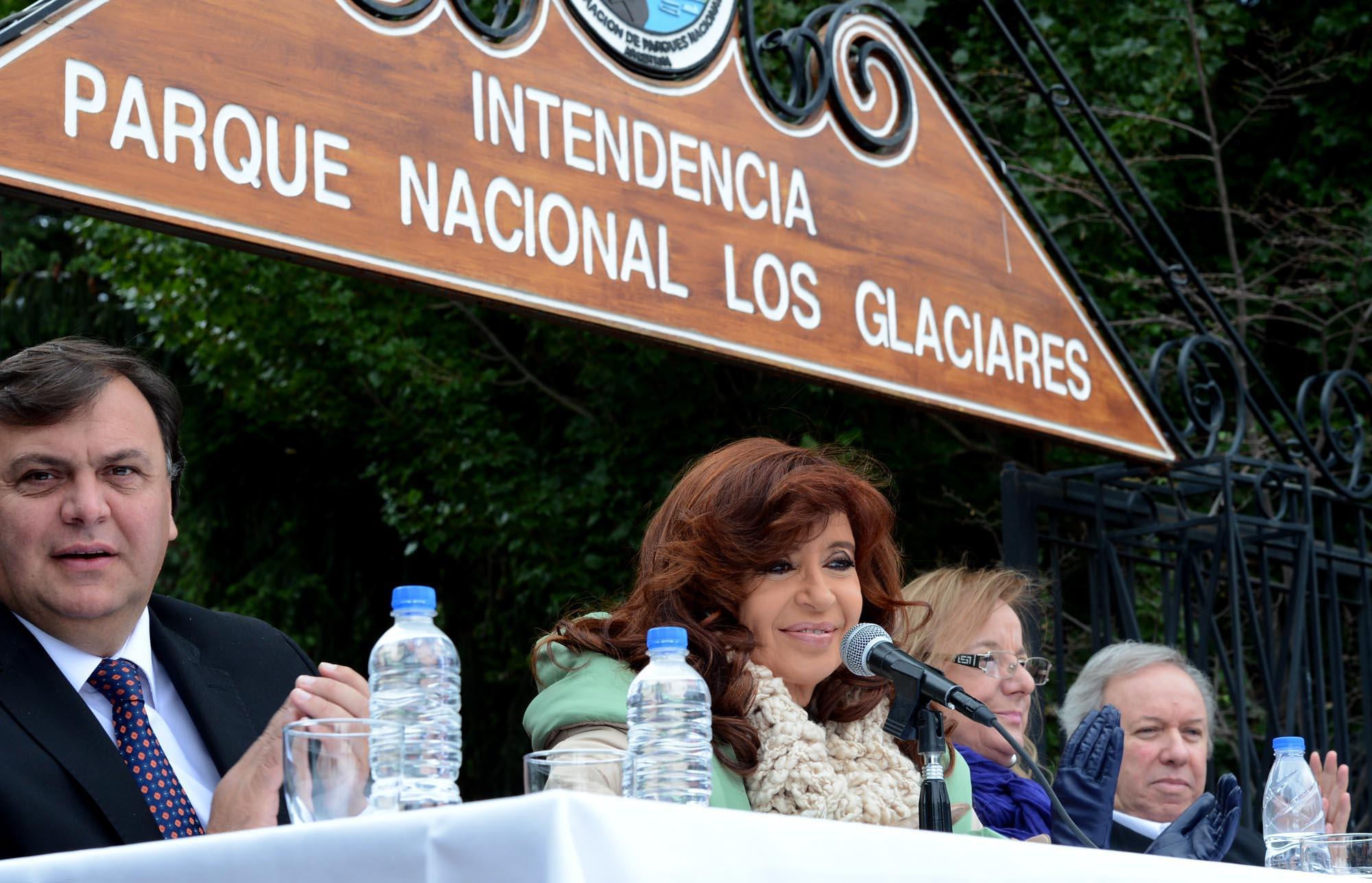 La Presidenta en El Calafate.