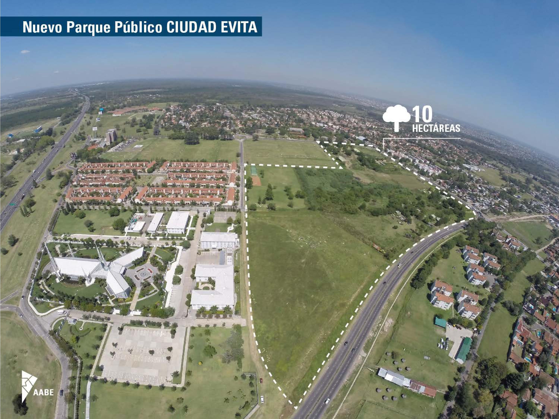 Nuevo Parque Público Ciudad Evita. La Matanza.