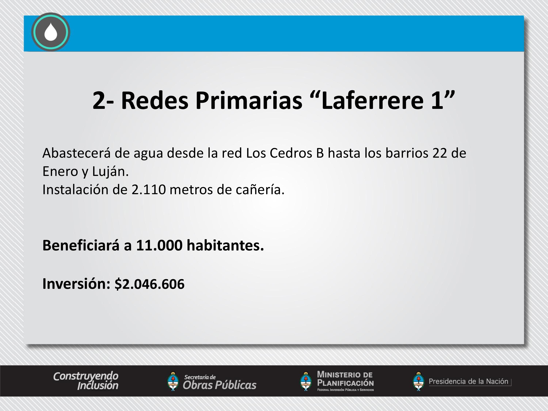 Inauguración de Obras de Agua Potable en La Matanza.