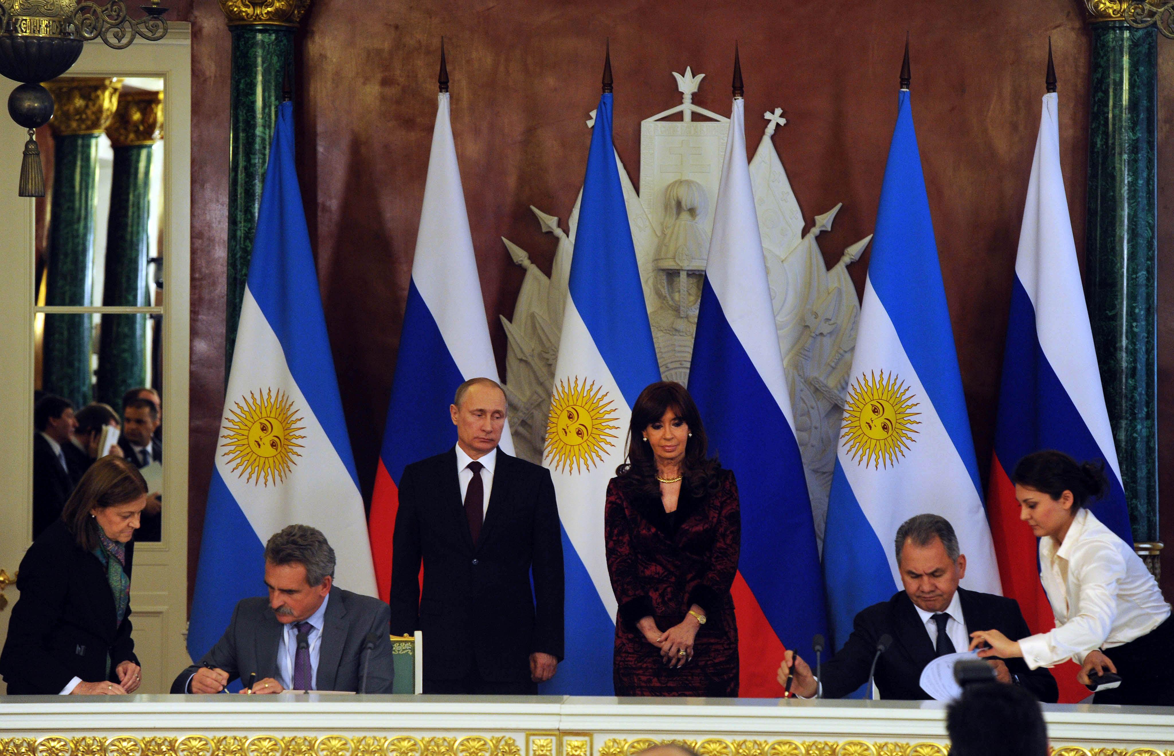 Acuerdos bilaterales con Rusia.