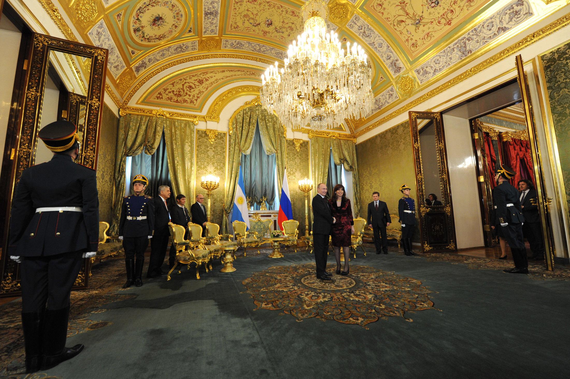 Cristina Kirchner en Rusia