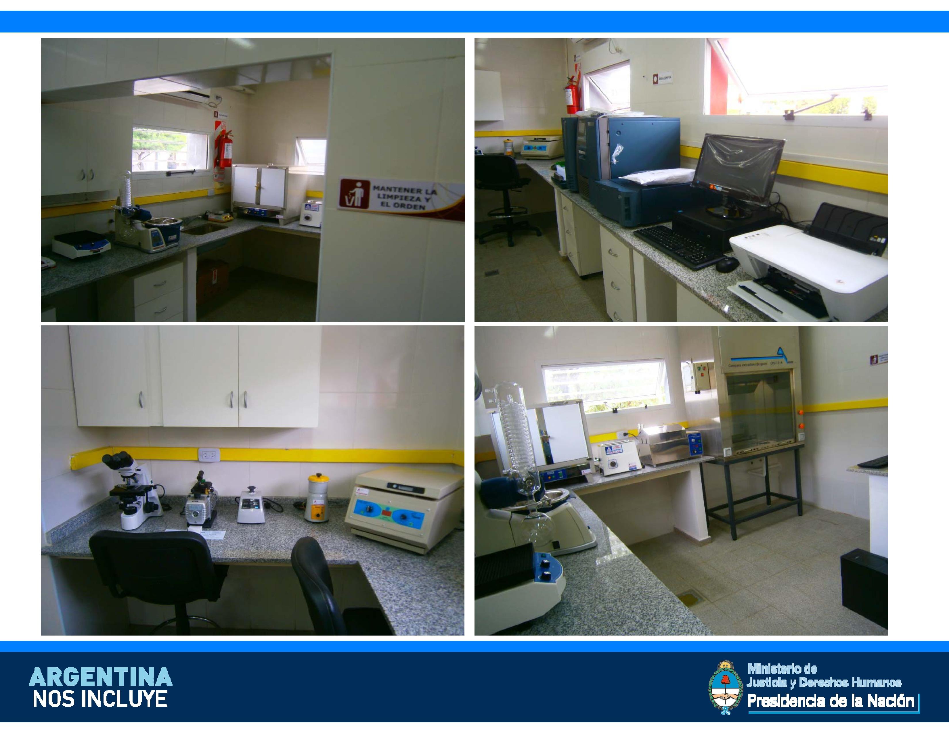 Inauguramos un nuevo laboratorio forense en Santiago del Estero.