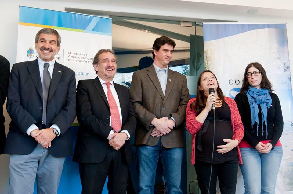 Un orgullo, una científica repatriada que volvió al país y hoy trabaja en Bariloche. ¡Felicitaciones María Celeste Ratto!