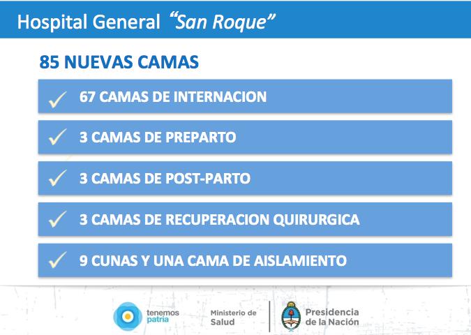 """Nuevo Hospital General """"San Roque"""" en Salta"""