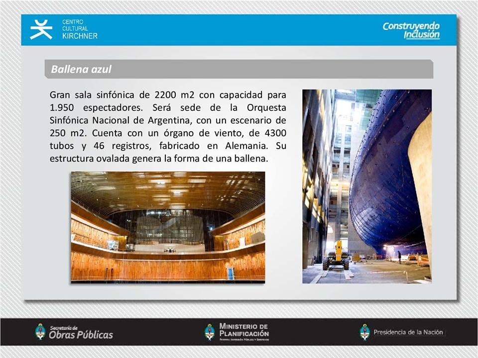 Puesta en funcionamiento del Centro Cultural Kirchner