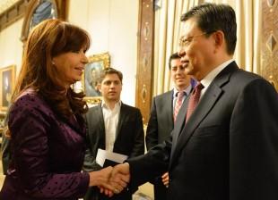 La Presidenta recibió a altas autoridades del Comité Central del Partido Comunista de China
