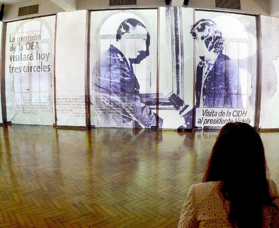 Inauguración del Sitio de Memoria ESMA
