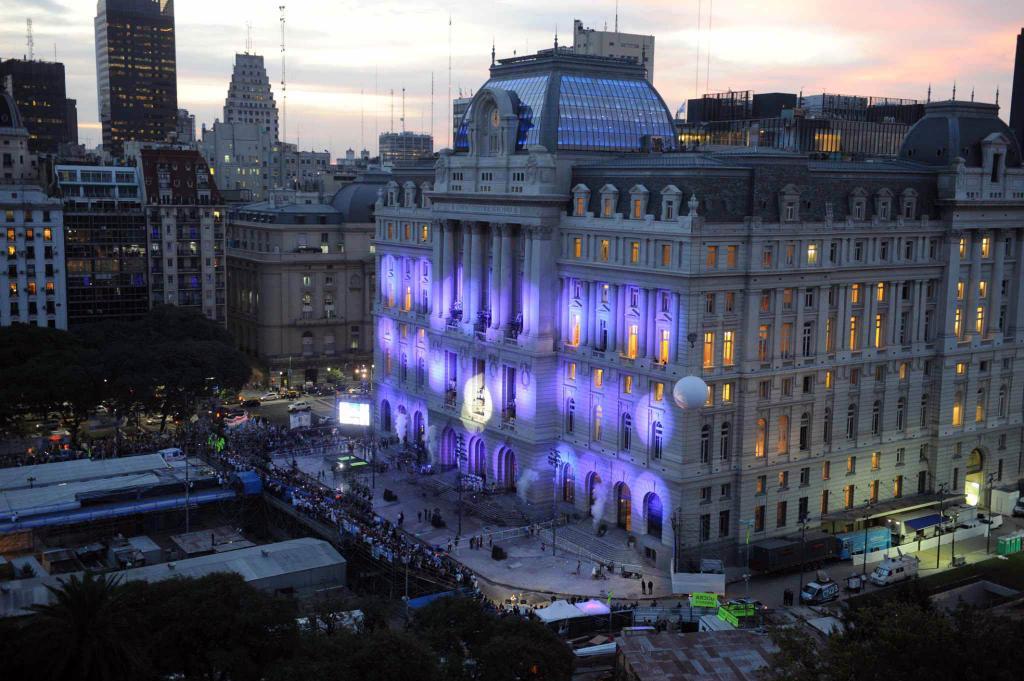 Centro Cultural Kirchner.