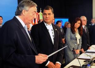 La Unasur eligió a Néstor Kirchner como nuevo Secretario General