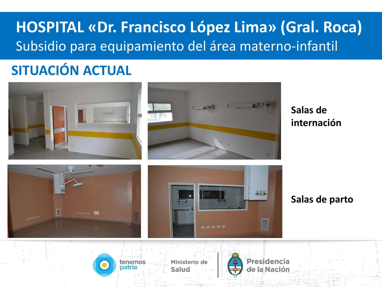 Hospital Río Negro.