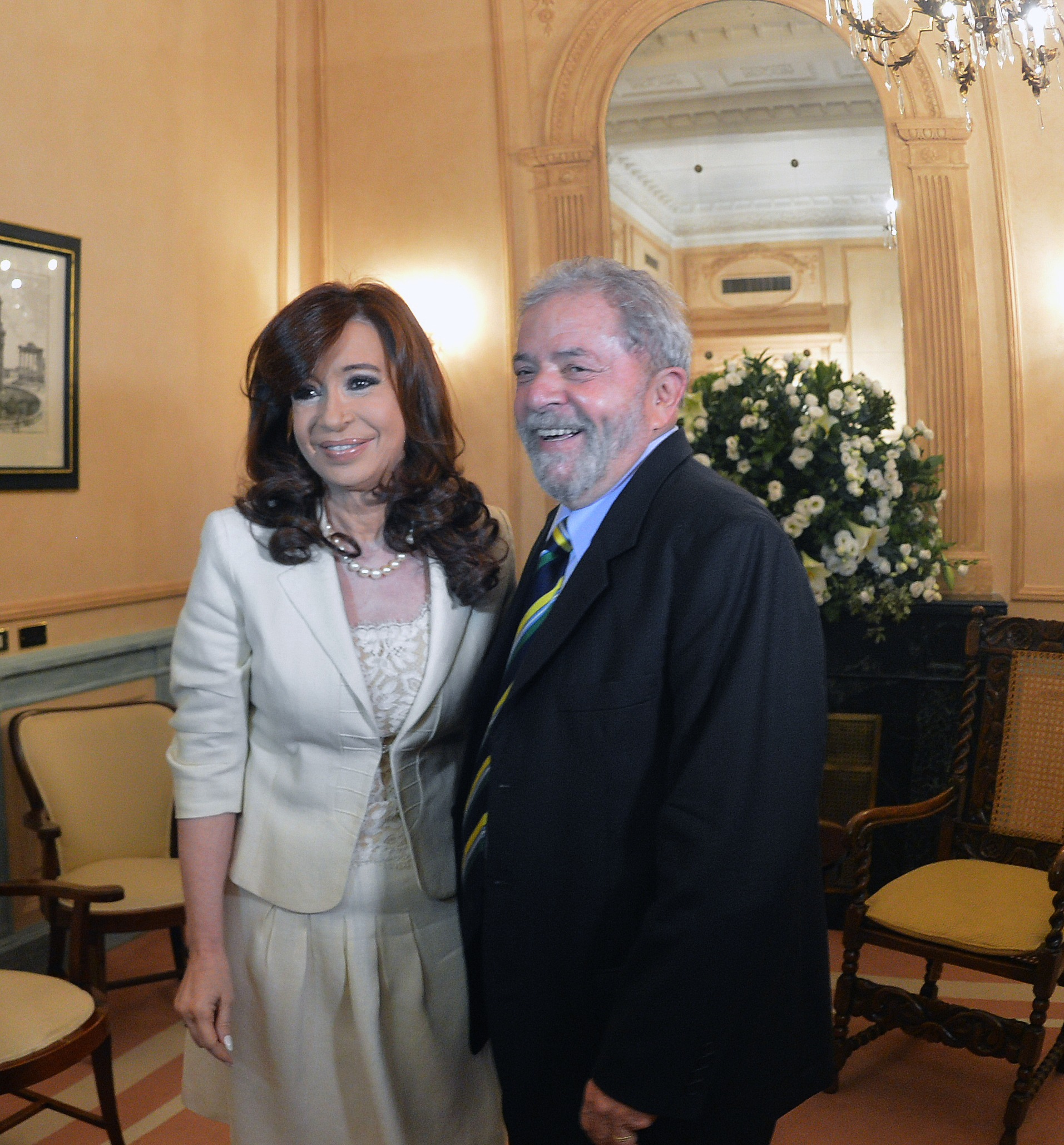 Cristina y Lula