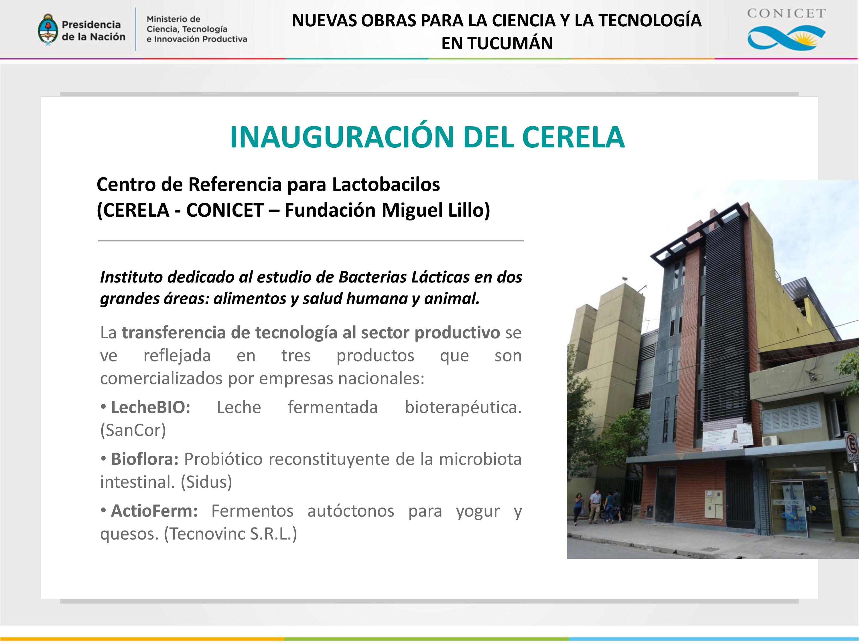 CONICET - Tucumán.