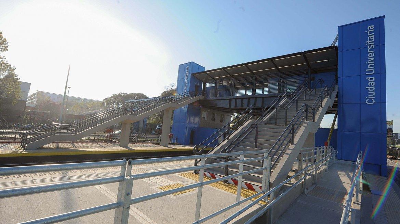 """Estación """"Ciudad Universitaria"""""""