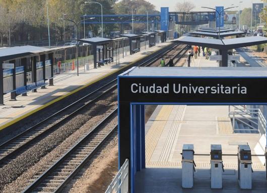 """Estación """"Ciudad Universitaria""""."""