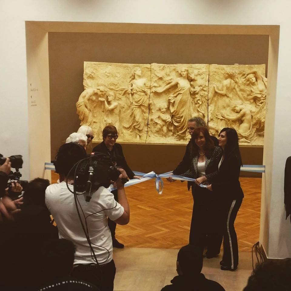 Inauguramos 18 salas en el Museo Nacional de Bellas Artes.