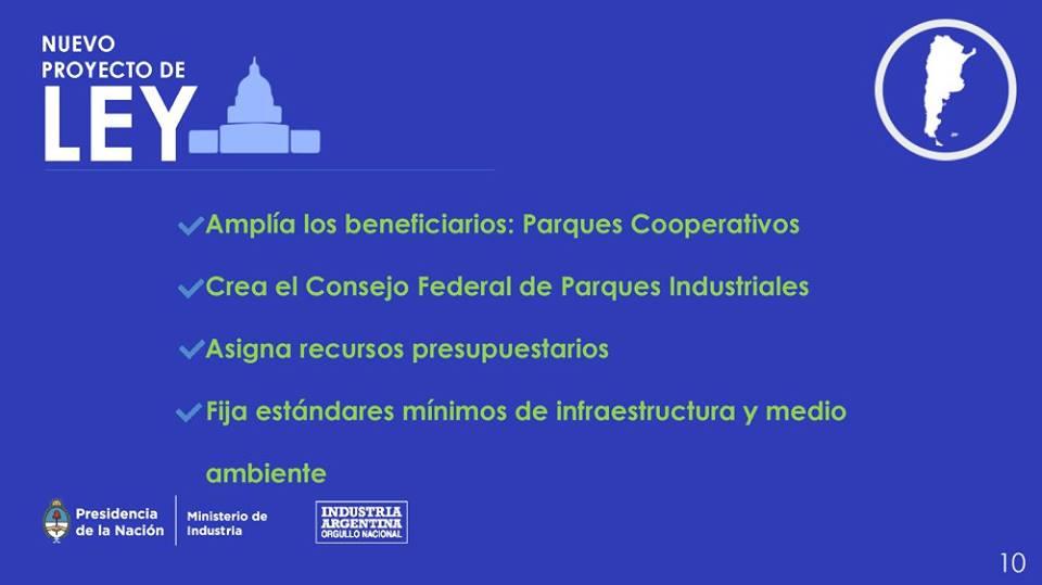 Parques Industriales.