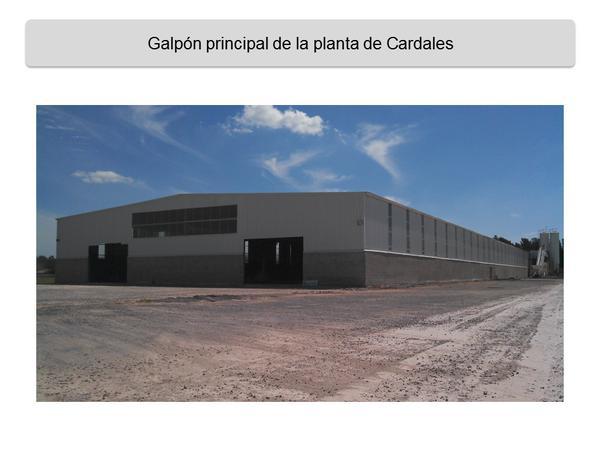 Nueva fabrica de durmientes en Cardales