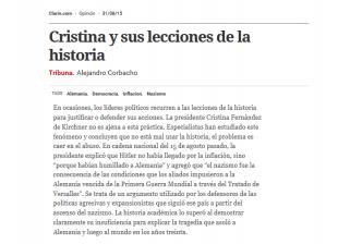 Corbacho / Clarín