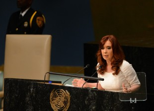 Address of the Argentine President Cristina Fernández to the UN General Assembly