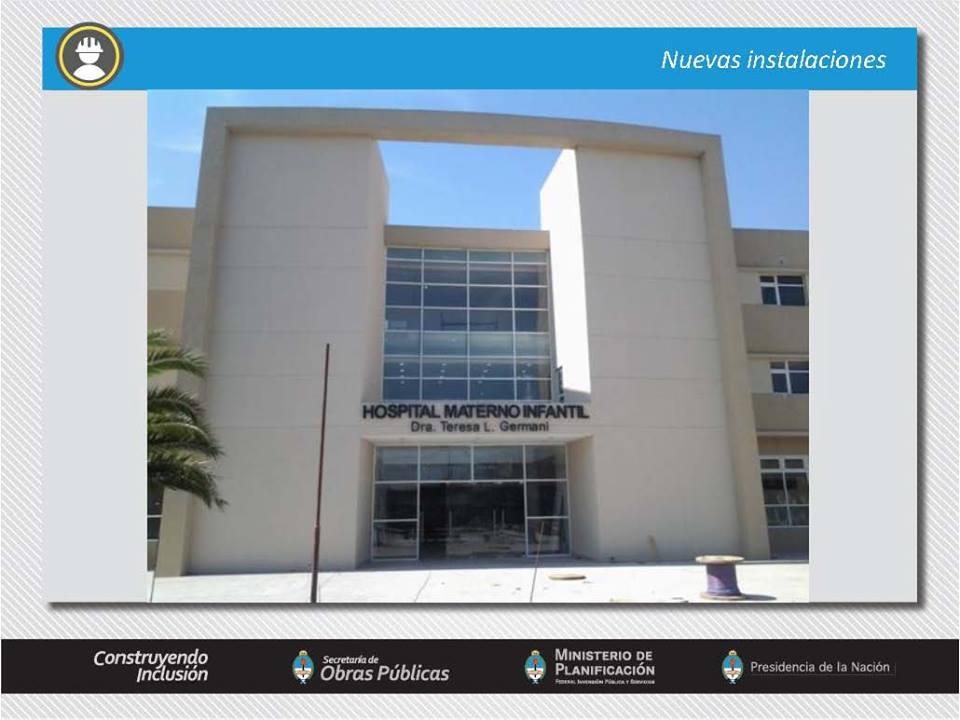 Nuevo edificio para el Hospital Germani en La Matanza.