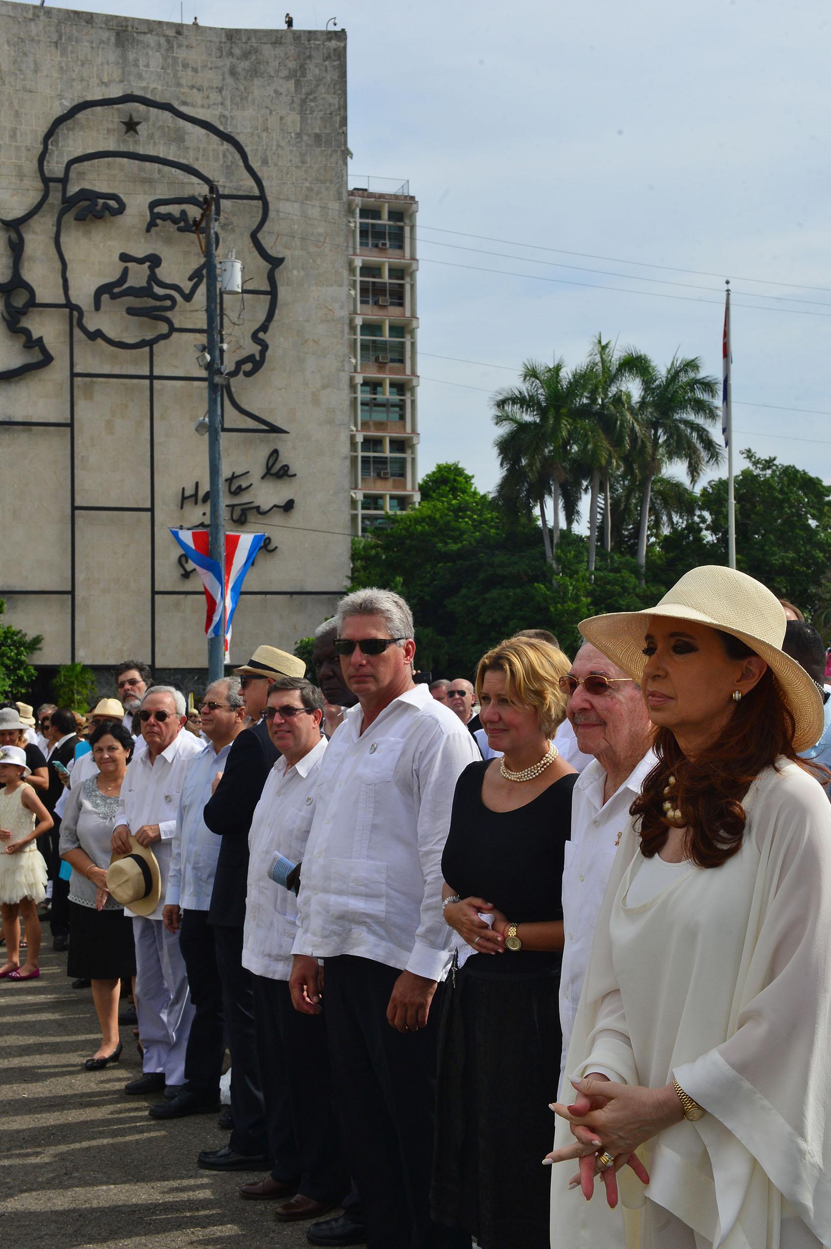 Cuba en la histórica misa que celebra el Papa en La Habana.