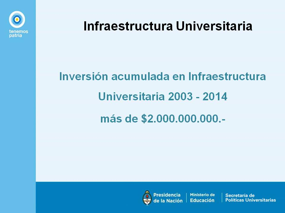 Sistema Universitario Nacional.