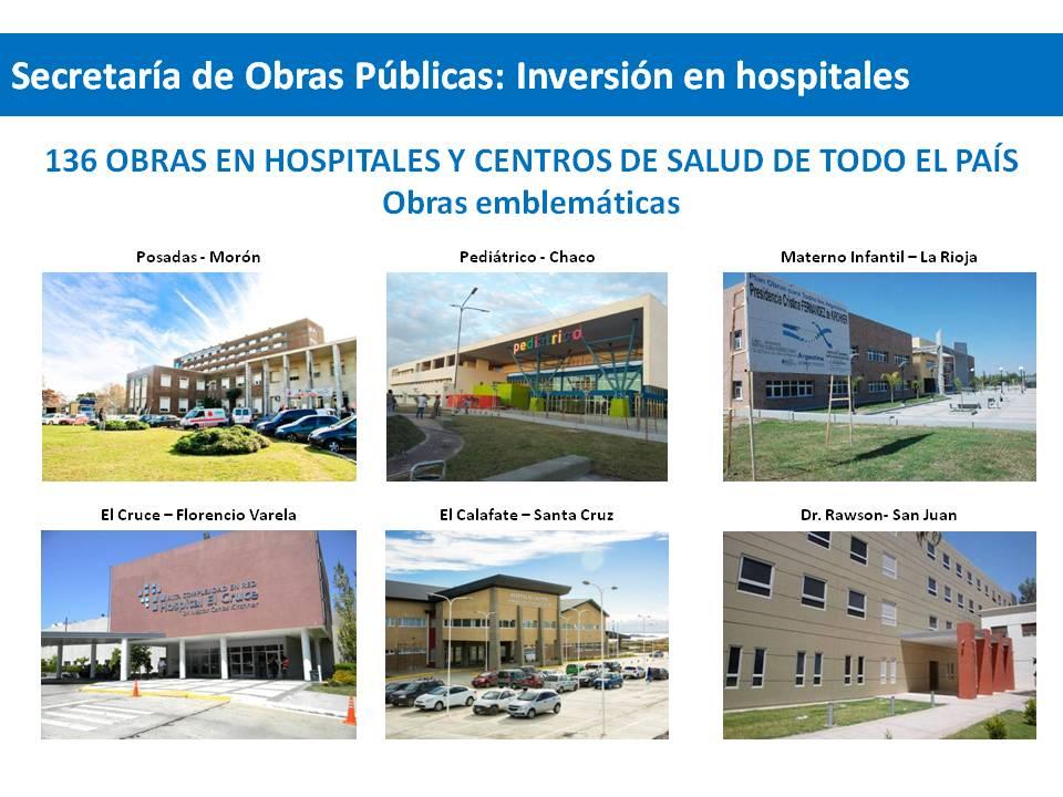 Inversión en Salud en la Provincia de Misiones.