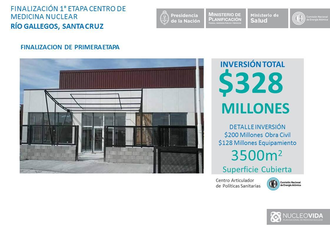En Rio Gallegos inauguramos la 1° etapa del Centro de Medicina Nuclear