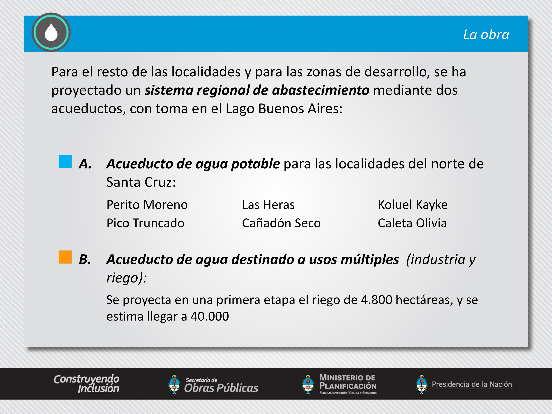 Acueducto para el Desarrollo Económico y Social del norte de Santa Cruz
