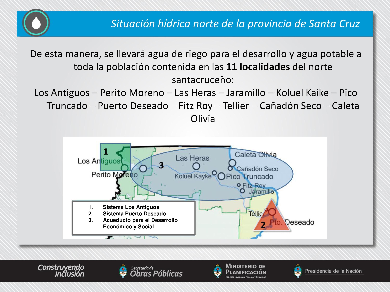 Acueducto para el Desarrollo Económico y Social del Norte de Santa Cruz.