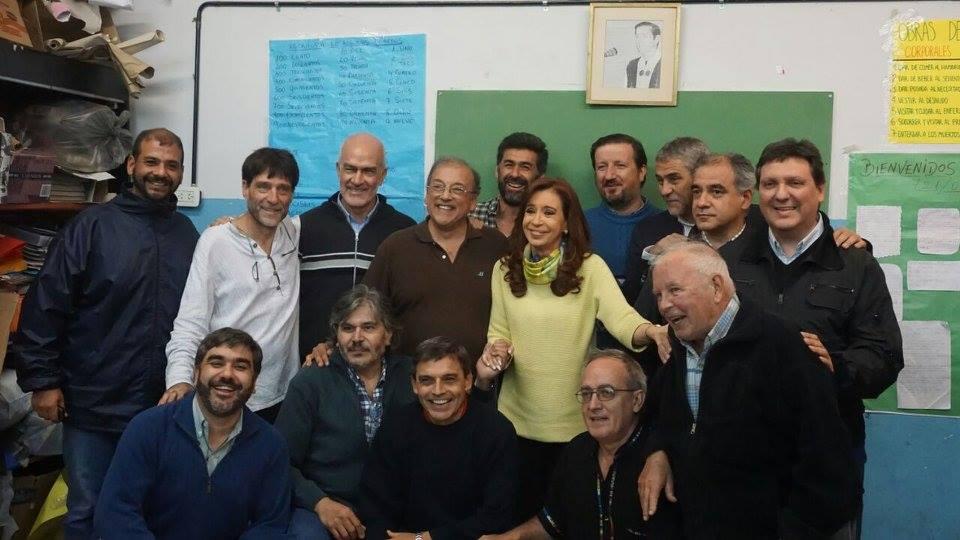 CFK en Isla Maciel