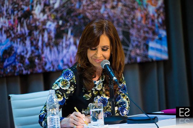 CFK en el PATRIA