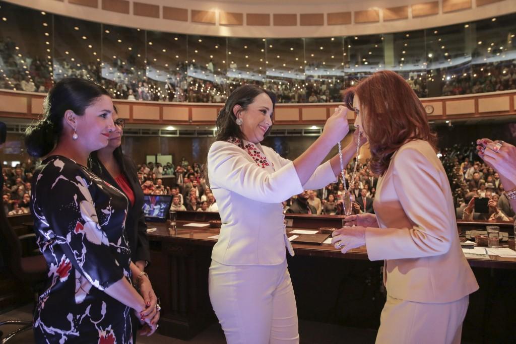 CFK condecorada