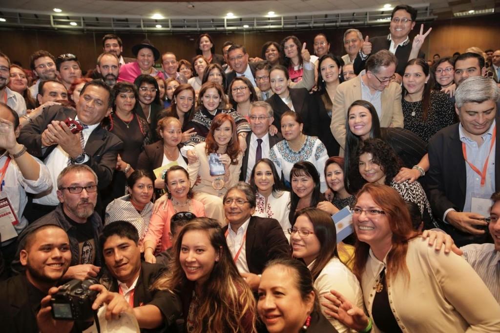 CFK en Ecuador 13