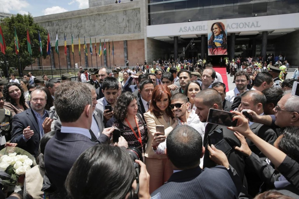 CFK en Ecuador 6