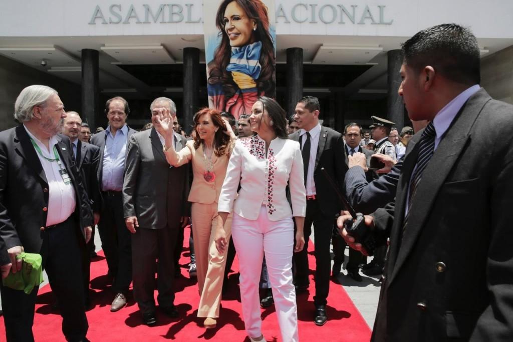 CFK en Ecuador 7