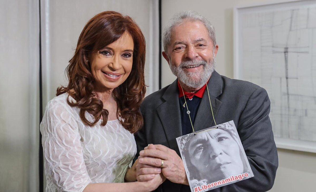 Cumbre CFK-Lula en Brasil