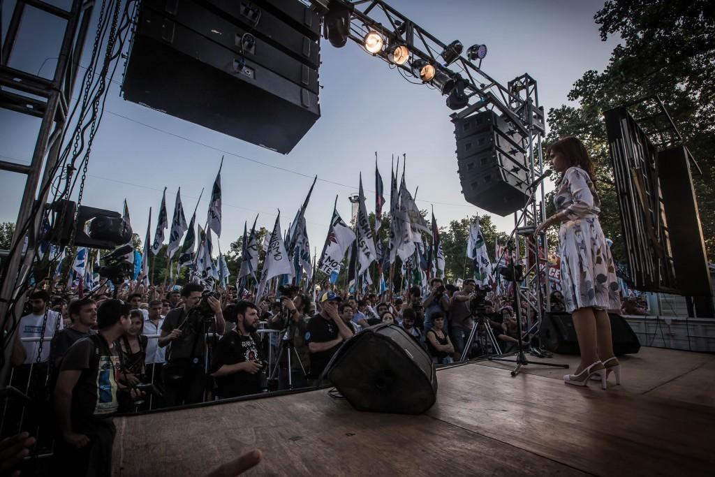 Cristina Kirchner en Lanús