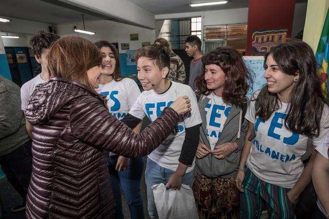 Cristina Kirchner en Avellaneda.